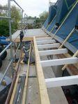 Garagenanbau mit Vordach