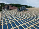 Dach einlatten