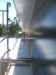 Montage HPL-Fassadenplatten